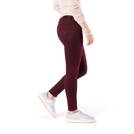 Denizen L.R Womens Low Rise Skinny Stretch Jeggings - Juniors
