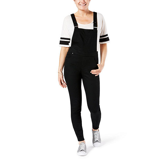 Denizen Skinny Overalls Sleeveless Overalls-Juniors