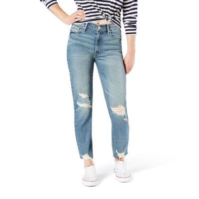 Denizen High Rise Vintage Womens High Waisted Slim Fit Jean - Juniors