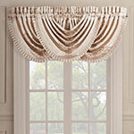Queen Street Kennedy Rod-Pocket Waterfall Valance