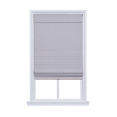 JCPenney Home Newport Privacy Bamboo Cordless Blackout Roman Shade
