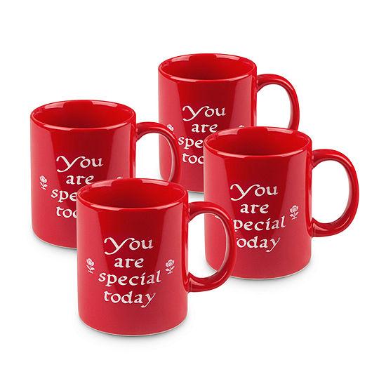 Waechterbach Sentiments 4-pc. Coffee Mug