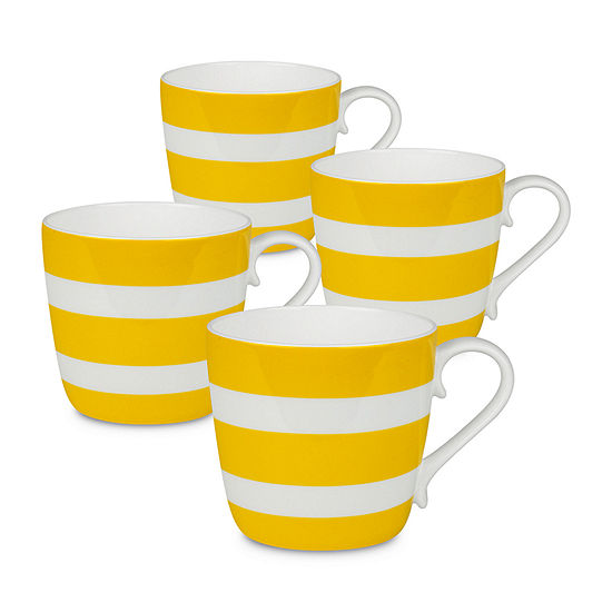 Waechterbach Stripes 4-pc. Coffee Mug
