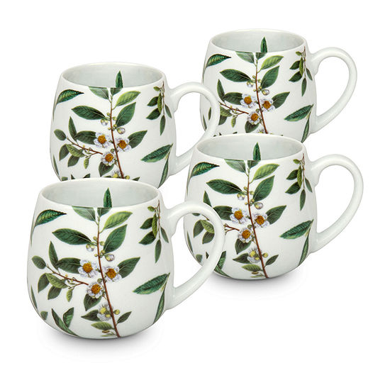 Waechterbach Green Tea 4-pc. Coffee Mug