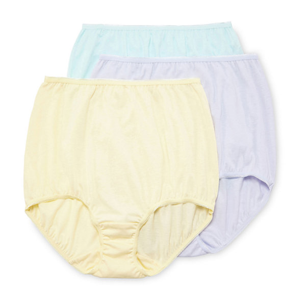 Underscore Cotton 3 Pack Knit Brief Panty