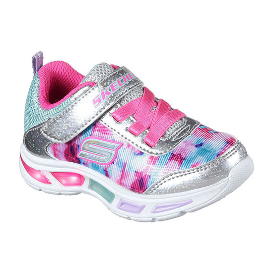 Skechers Lightbeams Girls Walking Shoes - Toddler