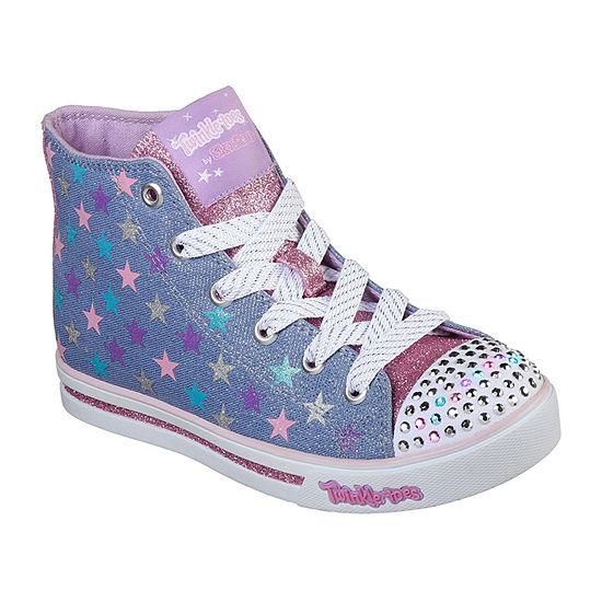 Skechers Sparkle Glitz Girls Sneakers - Little Kids/Big Kids