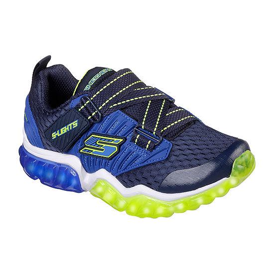 Skechers Rapid Flash Boys Walking Shoes Elastic - Little Kids