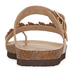 Arizona Sail Womens Footbed Sandals