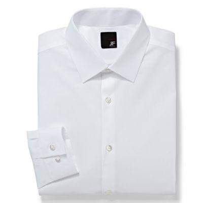 JF J. Ferrar® 100% Cotton Dress Shirt - Super Slim