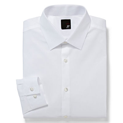 JF J. Ferrar® 100% Cotton Dress Shirt - Super Slim