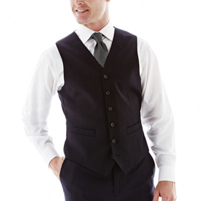 Stafford® Executive Super 100 Wool Vest - Classic