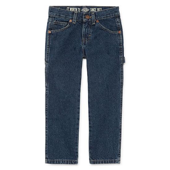 Dickies Relaxed Fit Carpenter Denim Jeans Preschool Boys 4 7
