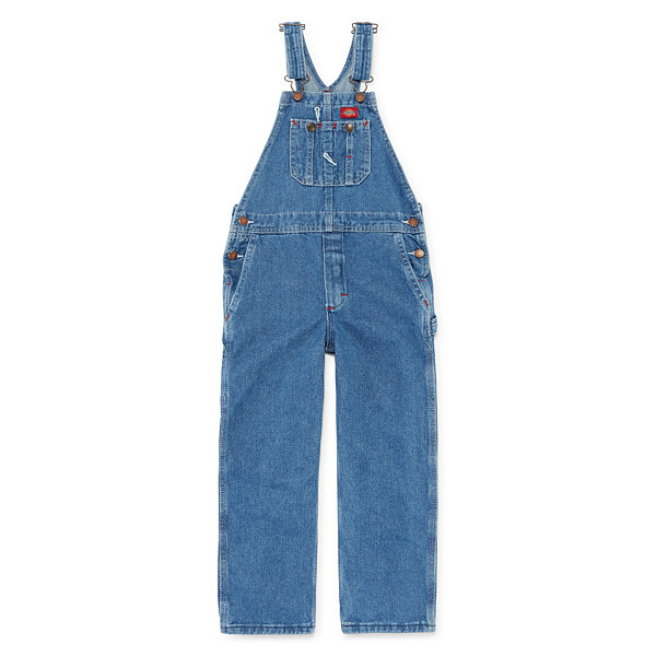 Dickies® Denim Bib Overalls - Preschool Boys 4-7