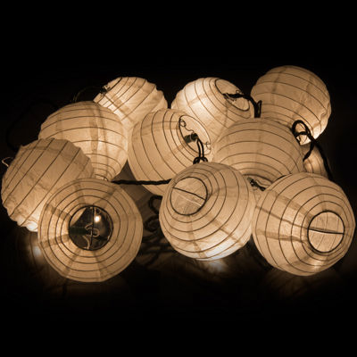 Oriental Furniture Maru Ball Indoor String Lights