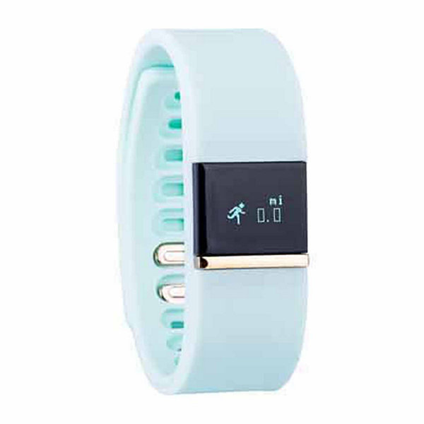 Ifitness Activity Smart Watch with Interchangeable Band - Gold/Mint & White