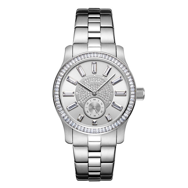 JBW Diamond Womens Silver Tone Bracelet Watch-J6349a