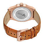 JBW Diamond Mens Brown Strap Watch-J6350d