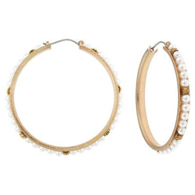 Mixit 1 3/4 Inch Hoop Earrings
