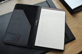 "Royce Leather Pack of 3 Refined Legal Writing Portfolio Pads 8.5"" x 11.75"""
