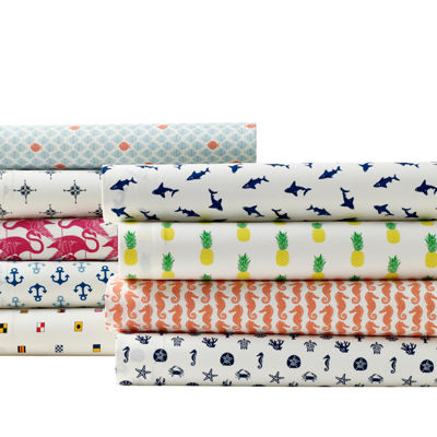 Poppy & Fritz Seahorses Easy Care Sheet Set