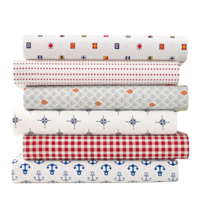 Poppy & Fritz Fish Easy Care Sheet Set