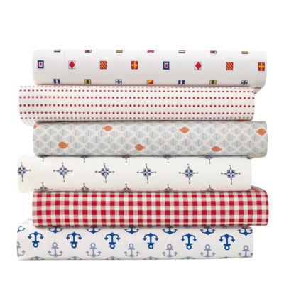 Poppy & Fritz Flags Easy Care Sheet Set