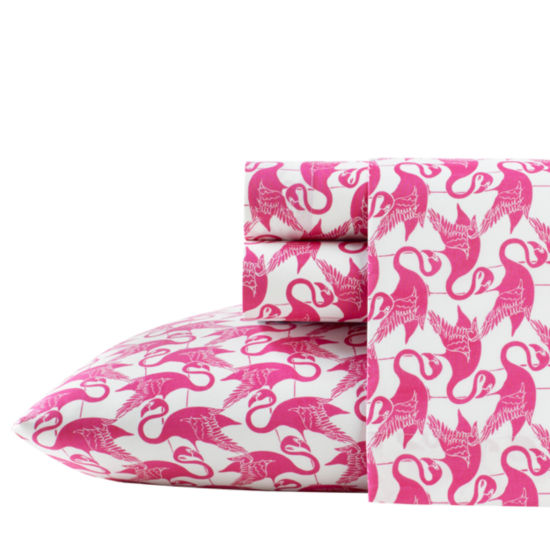 Poppy & Fritz Flamingo Easy Care Sheet Set