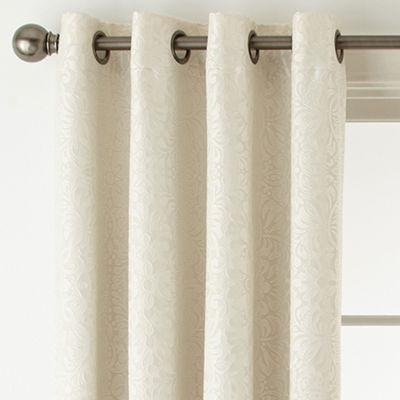 Plaza Tapestry Blackout Grommet-Top Curtain Panel