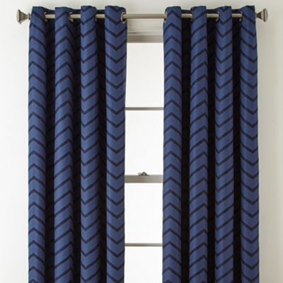 JCPenney Home Tribeca Blackout Grommet-Top Curtain Panel