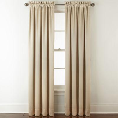 Royal Velvet Hilton Blackout Rod-Pocket Curtain Panel