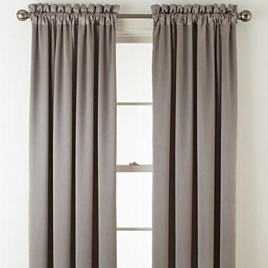 Royal Velvet Hilton Blackout Rod Pocket Curtain Panel Jcpenney
