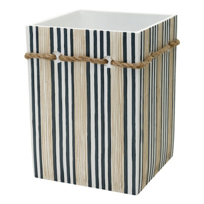 Zenna Home Beach Cottage Waste Basket