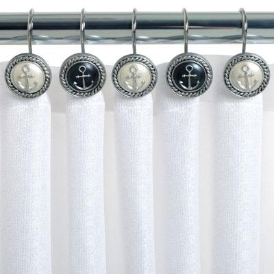 Zenna Home Beach Cottage Shower Curtain Hooks