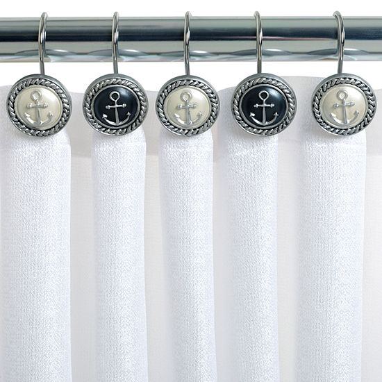 Zenna Home Beach Cottage Shower Curtain Hooks