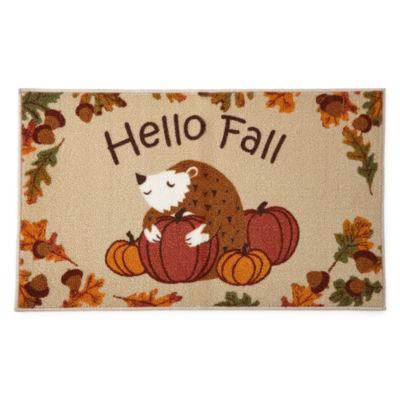 JCPenney Home™ Hello Fall Rectangular Rug