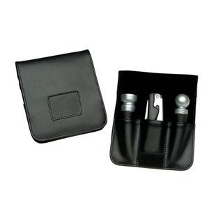 Royce Leather Genuine Leather 3-pc. Bar Tool Set