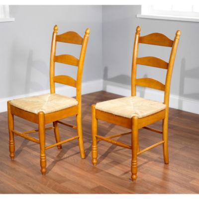 Ladderback 2-pc. Side Chair