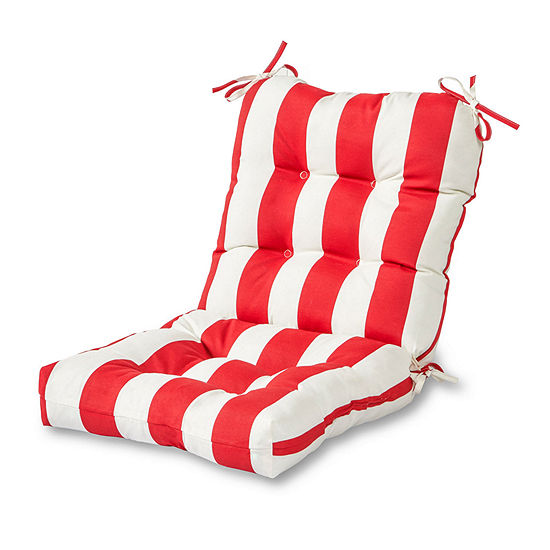 Greendale Home Fashions Stripe Outdoor Chair Cushion
