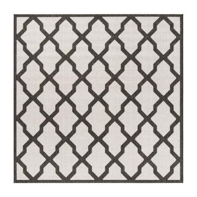 Safavieh Linden Collection Neasa Geometric Square Area Rug