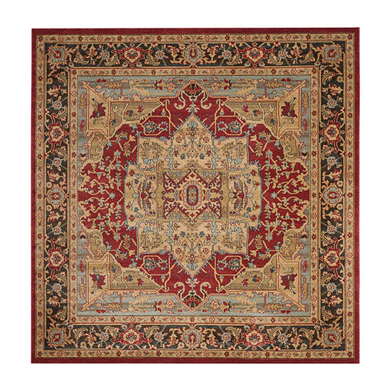 Safavieh Mahal Collection Alfonso Oriental SquareArea Rug