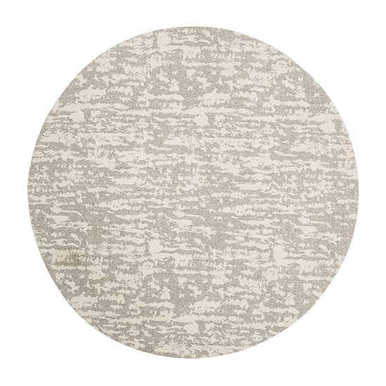 Safavieh Marbella Collection Bryon Geometric Round Area Rug