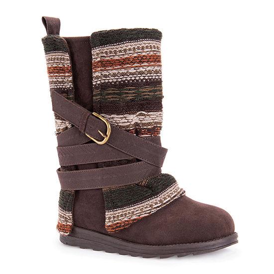 Muk Luks Womens Nikki Dress Boots