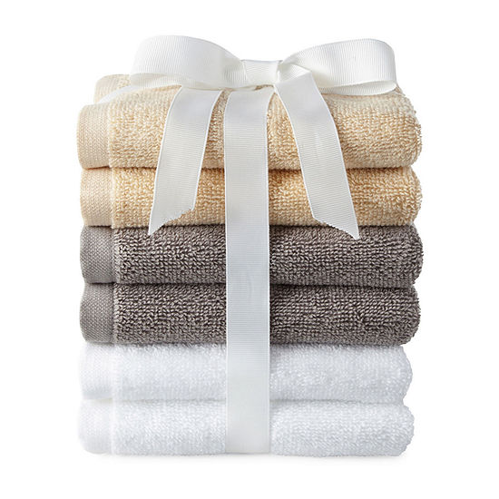 Morgan 6pc Washcloth Set