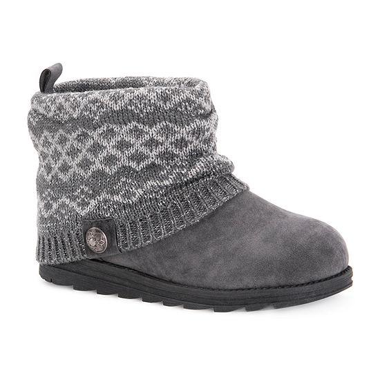 Muk Luks Womens Patti Pull-on Dress Boots