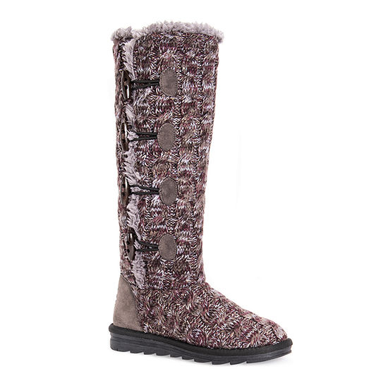 Muk Luks Womens Felicity Pull-on Slouch Boots