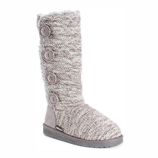 Muk Luks Womens Liza Pull-on Slouch Boots