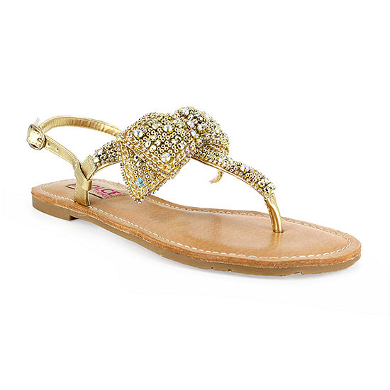 Dolce By Mojo Moxy Womens Sundial Flat Sandals