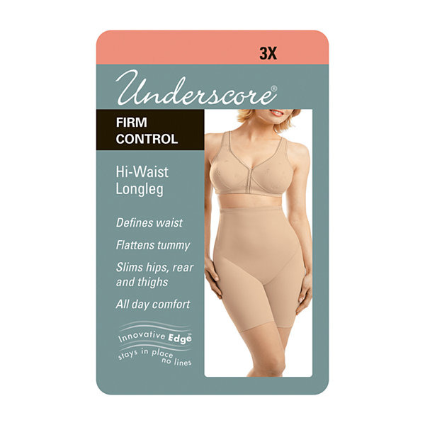 Underscore Plus Innovative Edge® High-Waist Firm Control Thigh Slimmers - 129-3529