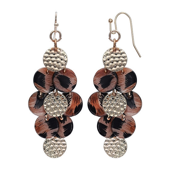 Mixit Cascading Drop Earrings